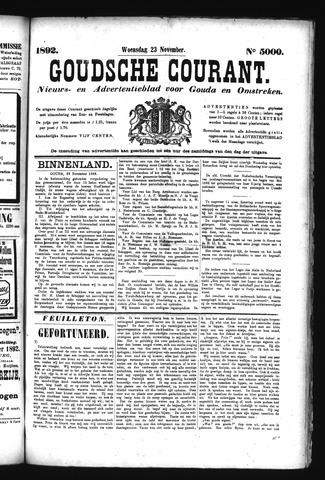 Goudsche Courant 1892-11-23