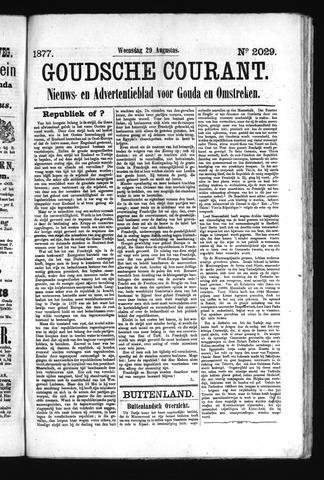 Goudsche Courant 1877-08-29