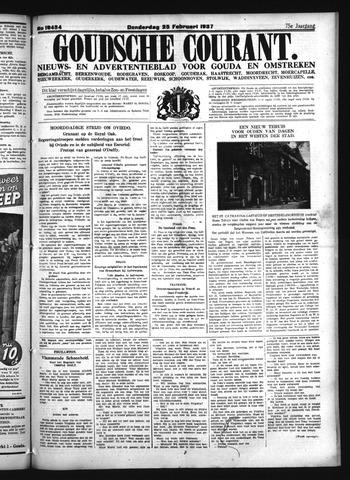 Goudsche Courant 1937-02-25