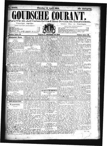 Goudsche Courant 1914-04-14