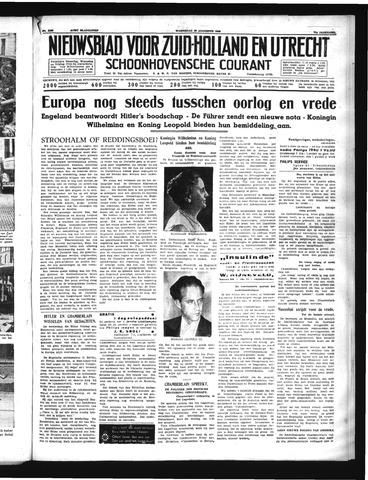 Schoonhovensche Courant 1939-08-30