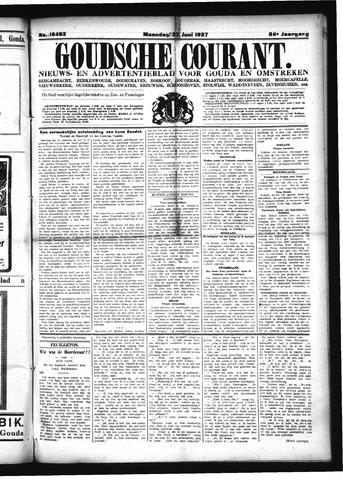 Goudsche Courant 1927-06-27