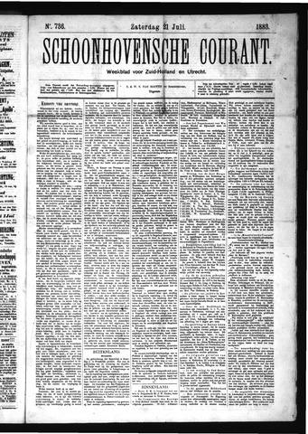 Schoonhovensche Courant 1883-07-21