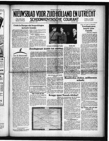 Schoonhovensche Courant 1952-03-05