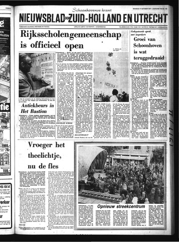 Schoonhovensche Courant 1977-10-17