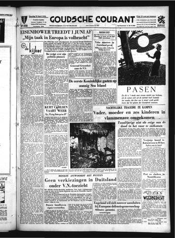 Goudsche Courant 1952-04-12