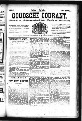 Goudsche Courant 1892-11-11