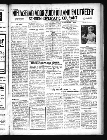 Schoonhovensche Courant 1949-01-19