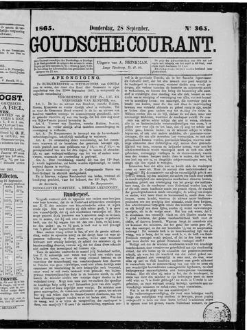 Goudsche Courant 1865-09-28