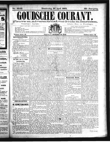 Goudsche Courant 1913-04-10