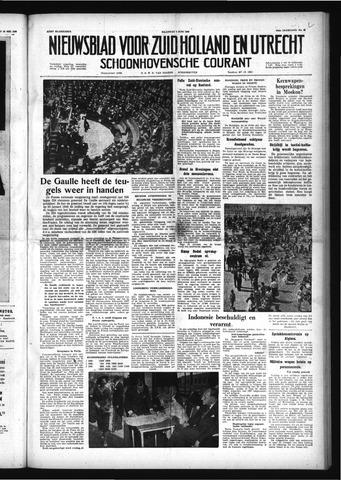 Schoonhovensche Courant 1958-06-02