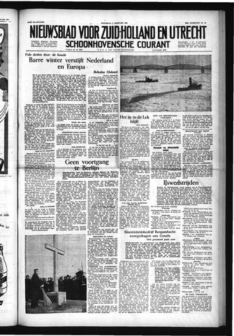 Schoonhovensche Courant 1954-02-03