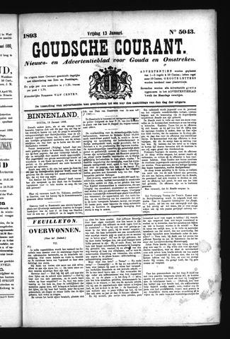 Goudsche Courant 1893-01-13