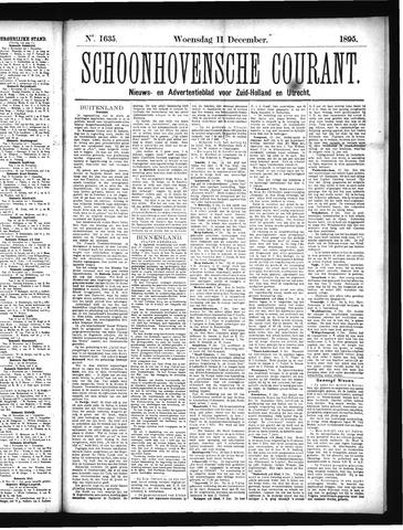 Schoonhovensche Courant 1895-12-11