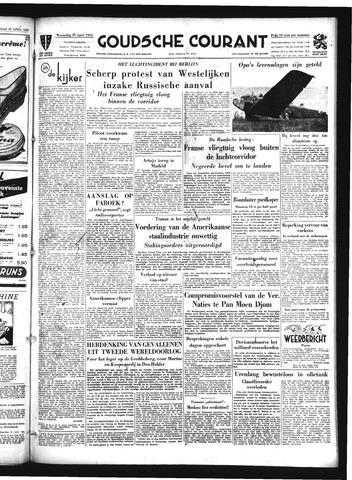 Goudsche Courant 1952-04-30