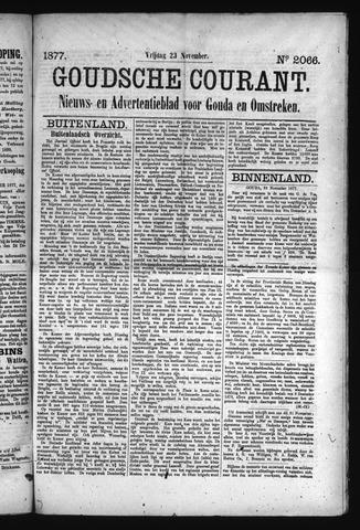 Goudsche Courant 1877-11-23