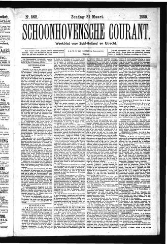 Schoonhovensche Courant 1880-03-21