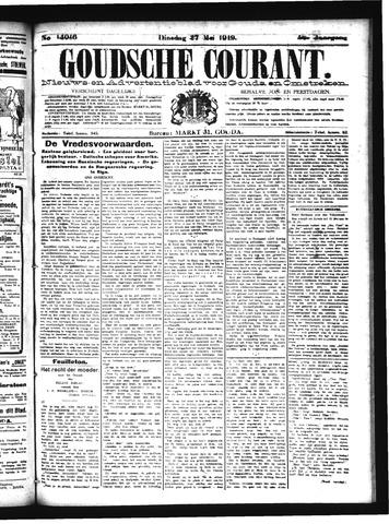 Goudsche Courant 1919-05-27