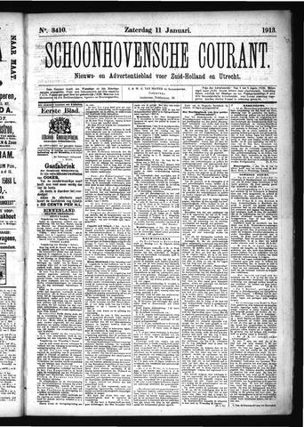 Schoonhovensche Courant 1913-01-11