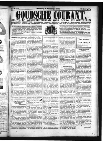 Goudsche Courant 1934-11-05