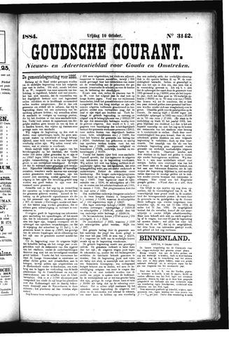 Goudsche Courant 1884-10-10