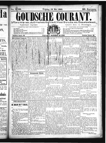 Goudsche Courant 1911-05-19