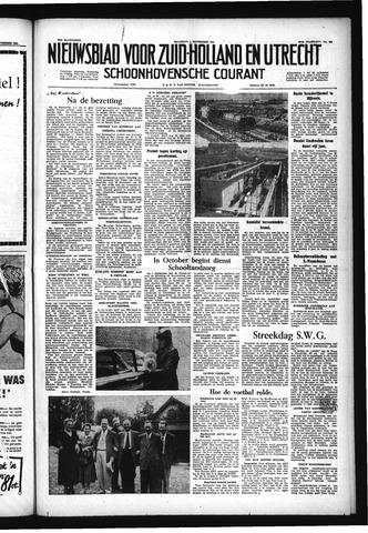 Schoonhovensche Courant 1955-09-05