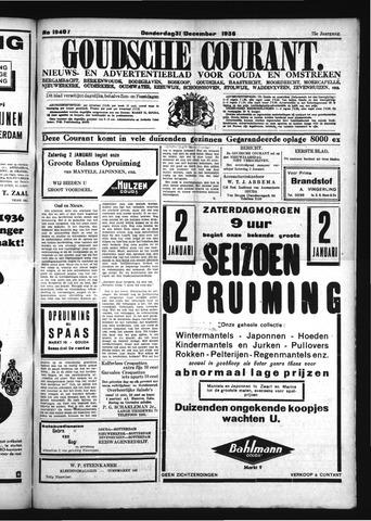 Goudsche Courant 1936-12-31