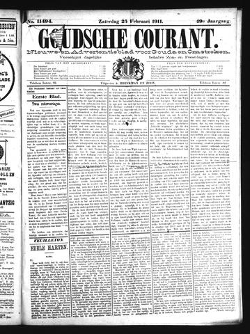 Goudsche Courant 1911-02-25