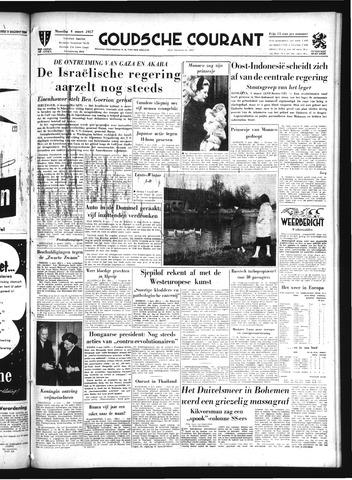 Goudsche Courant 1957-03-04