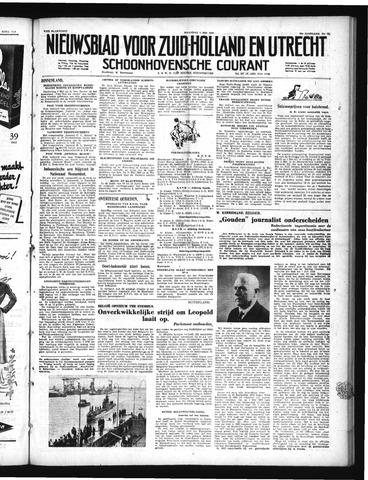 Schoonhovensche Courant 1950-05-01