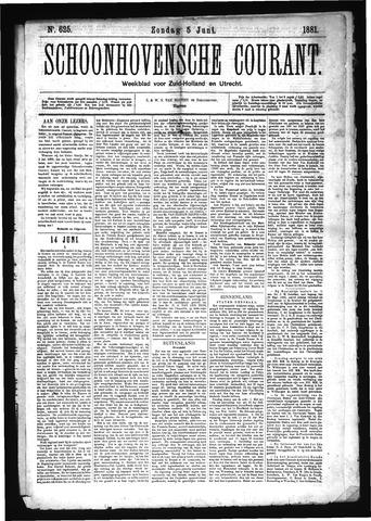 Schoonhovensche Courant 1881-06-05