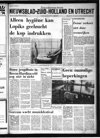 Schoonhovensche Courant 1974-07-10