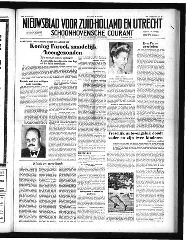 Schoonhovensche Courant 1952-07-28