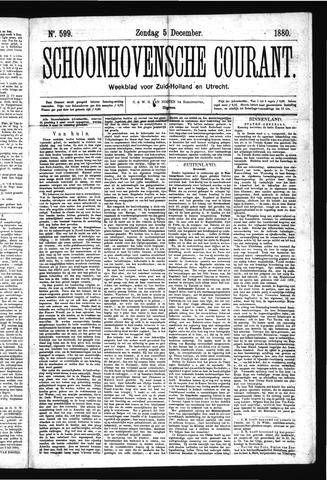 Schoonhovensche Courant 1880-12-05