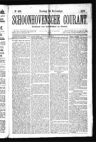 Schoonhovensche Courant 1878-11-24