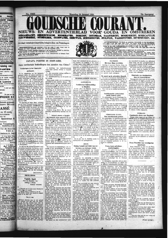 Goudsche Courant 1938-01-24