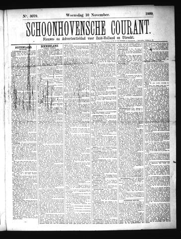 Schoonhovensche Courant 1909-11-10