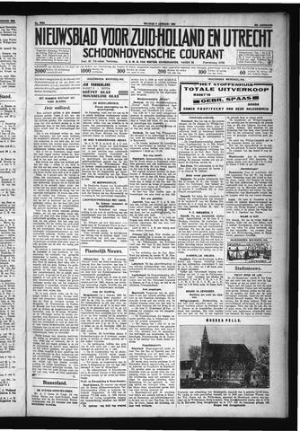Schoonhovensche Courant 1931-01-09