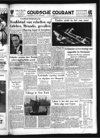 Goudsche Courant 1958-06-27