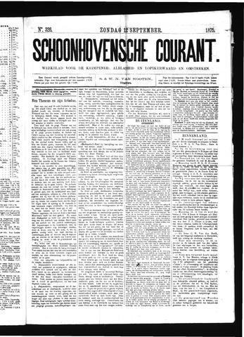 Schoonhovensche Courant 1875-09-12