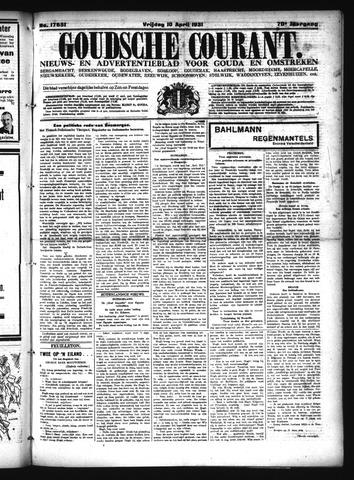 Goudsche Courant 1931-04-10