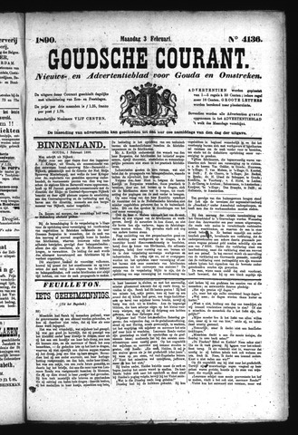 Goudsche Courant 1890-02-03