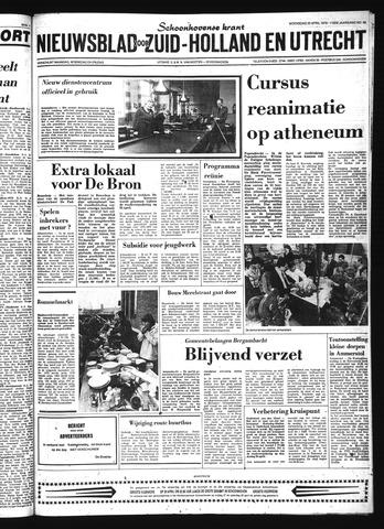 Schoonhovensche Courant 1979-04-25