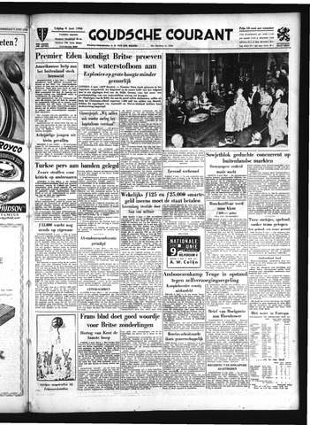 Goudsche Courant 1956-06-08