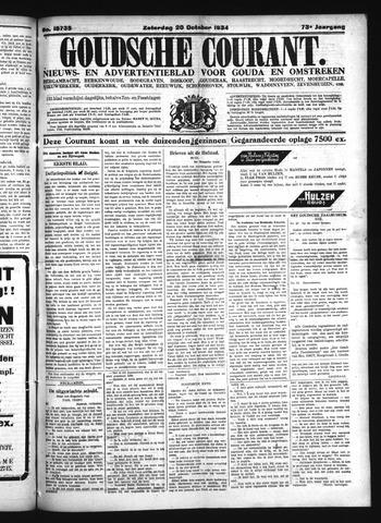 Goudsche Courant 1934-10-20