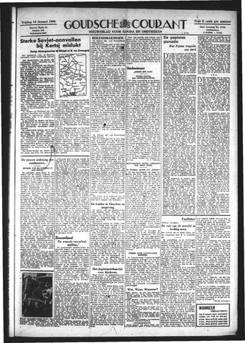 Goudsche Courant 1944-01-14