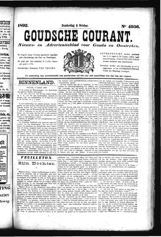 Goudsche Courant 1892-10-06