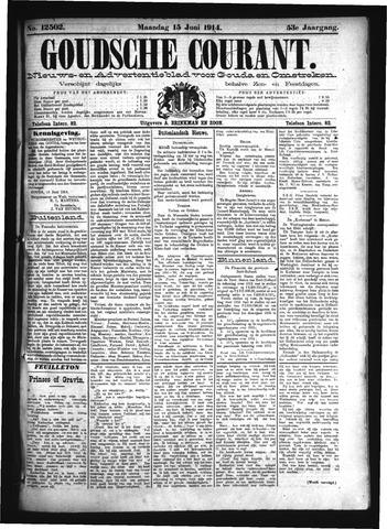 Goudsche Courant 1914-06-15