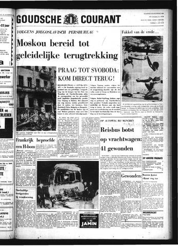 Goudsche Courant 1968-08-25